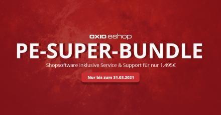 OXID PE-Super-Bundle: Ein Jahr Service geschenkt.
