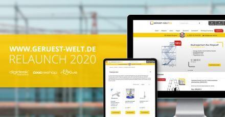 Wir gratulieren der Gerüst-Welt.de zum Relaunch 2020!
