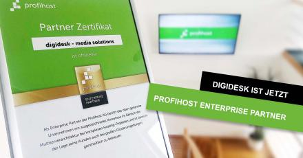 digidesk ist Profihost Enterprise Partner