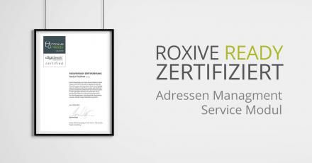 RoxIVE ready: Adressen Management Modul von Endereco