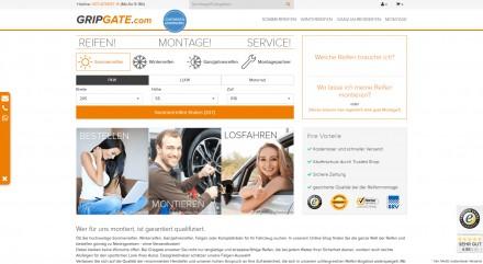 digidesk realisiert Reifenportal gripgate.com