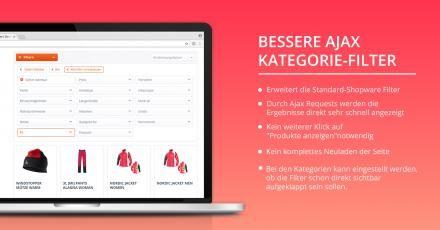 Neues Shopware-Plugin für bessere Ajax Kategorie-Filter