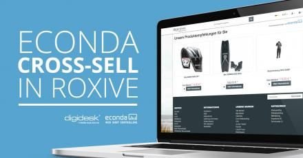 "econdas Cross-Sell-Funktion ab sofort im responsive Theme ""RoxIVE"" von digidesk - media solutions"