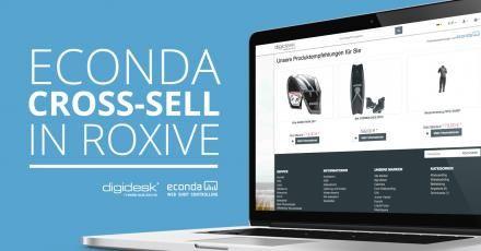 "econdas Cross-Sell-Funktion ab sofort im responsive Theme ""RoxIVE"" von digidesk - media solutions"