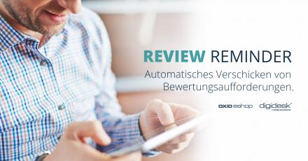 Neues OXID-Modul: Review Reminder
