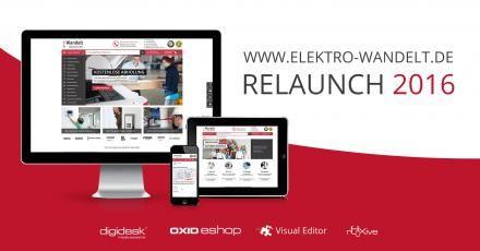 Big Player Elektro Wandelt: digidesk - media solutions relauncht Online-Shop