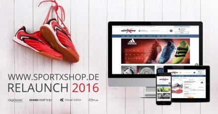 Relaunch von SportXshop.de