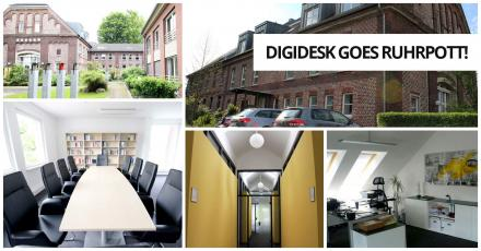 digidesk  - media solutions eröffnet neue Niederlassung in Dortmund