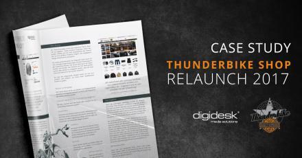 Case Study zum Relaunch vom Thunderbike Shop