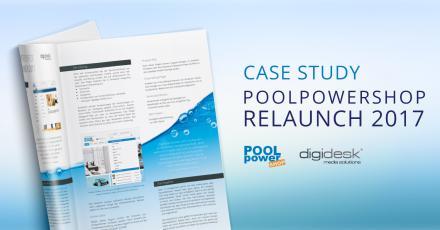Case Study zum Relaunch von Poolpowershop.de