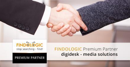 Wir sind Premium Partner von FINDOLOGIC