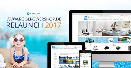 digidesk - media solutions relauncht Poolpowershop