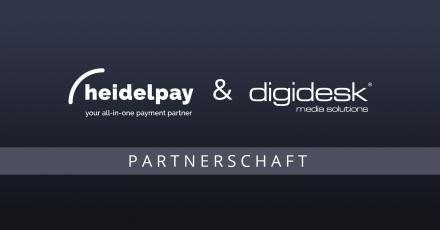 Heidelpay und digidesk beschließen Partnerschaft