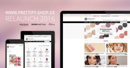 Relaunch von Prettify-Shop.de