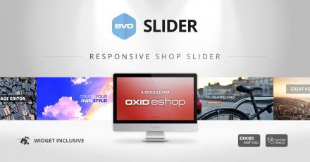 Neues OXID eShop Modul für individuelle Slider