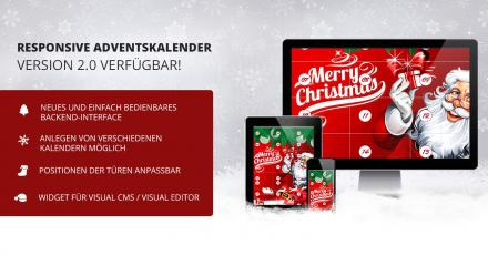 Features der neuen OXID-Adventskalender Version 2.0