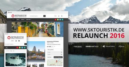 Relaunch von SK Touristik
