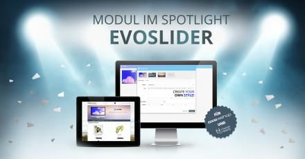 Modulspotlight August: evoSLIDER