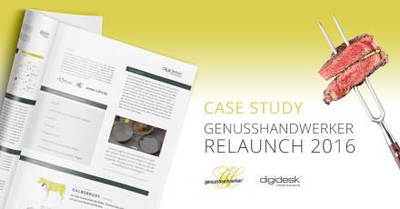 Case Study zum Relaunch von Genusshandwerker.de