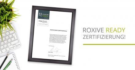 Jetzt neu: RoxIVE ready Zertifizierung