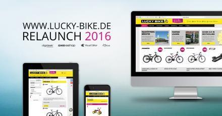 Lucky Bike: Deutliches Umsatzplus nach Relaunch durch digidesk!