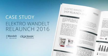 Case Study zum Relaunch von Elektro Wandelt