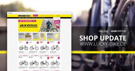 Lucky-Bike.de Shop Update