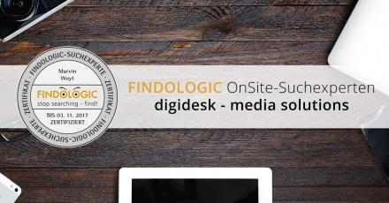 Wir sind Findologic OnSite-Suchexperten!