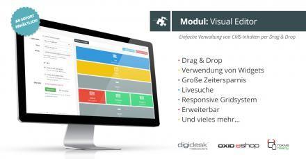 eCommerce-Spezialisten von digidesk - media solutions veröffentlichen Visual Editor