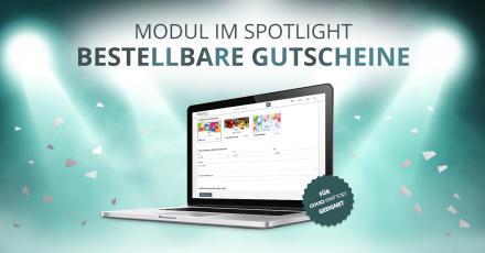 Modul im Spotlight: Bestellbare Gutscheine für OXID eShop