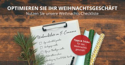 Optimierung des Weihnachtsgeschäfts: Die Weihnachts-Checkliste