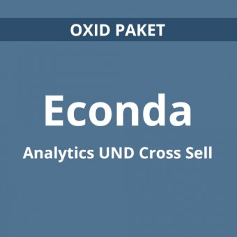 econda Analytics und Cross Sell für OXID eShop