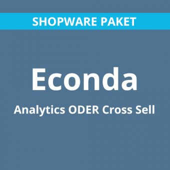 econda Analytics oder Cross Sell für Shopware